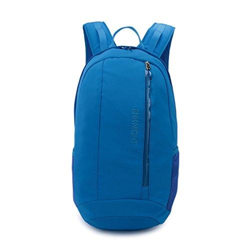 enknight Waterproof School College Laptop Backpacks Travel Bag Schoolbag Daypack Light Blue