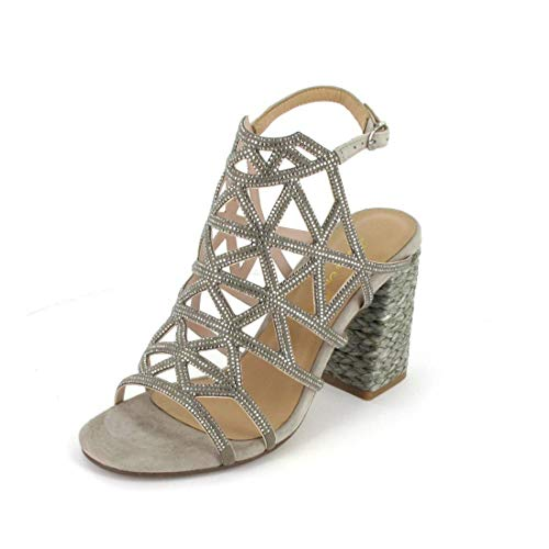 Alma en Pena Sandalette Größe 37, Farbe: 170 Suede Taupe