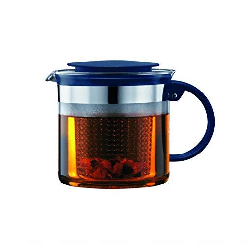 Bodum Bistro Nouveau Tea Pot, 51 Oz, Sea