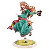 KXY Figura, Wolf and Spice Holo Anime Clásico Modelo Personajes De Anime, Material De PVC Coleccionables Regalos para Niños Decoraciones De Escritorio