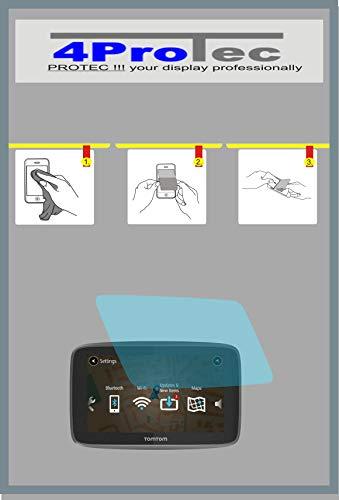 2x Crystal clear klar Schutzfolie für TomTom GO 520, 5200 Premium Bildschirmschutzfolie Displayschutzfolie Schutzhülle Bildschirmschutz Bildschirmfolie Folie