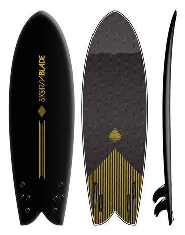 StormBlade 5'8 Modern Retro Fish Surfboard