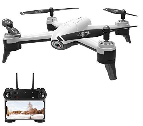 Drone com camera HD 4k Sg106 Maverick - 4K Branco 2 Baterias