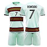 CBVB Camiseta de fútbol, Silva 9# 7#, Uniformes de fútbol de Portugal, 2020-2021 (Local y visitante), Adultos, niños, Entrenamiento de Partidos, Personalizado-Away7#-20