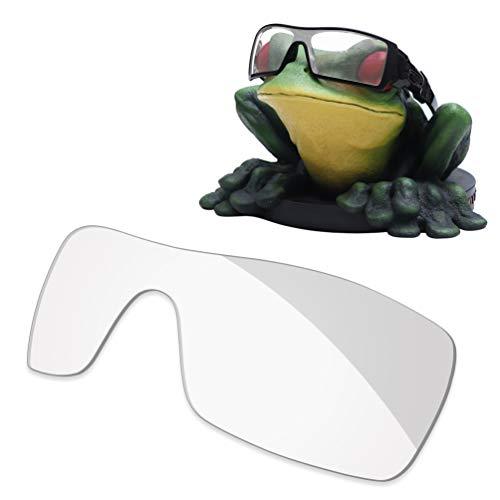 Acefrog Lentes de repuesto polarizadas con revestimiento AR de 1,4 mm de grosor para gafas de sol Oakley Oil Rig