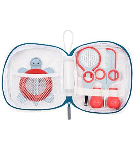 Bébé Confort Trousse de Toilette pour Bébé, Inclut un Thermomètre, des Ciseaux, un Coupe-Ongles, un Peigne et une Brosse pour Bébé