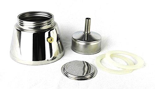 Ancap Zubehör-Set für Espressokocher »Carina«, »Nicole«, »Darling« und »Carina biliardo« (4 Tassen) / Made in Italy