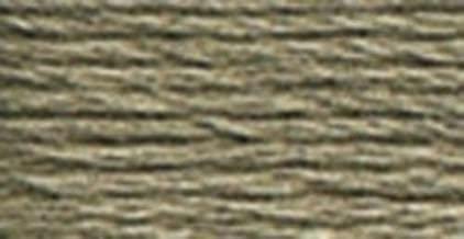 Color Gris Oscuro 6 Hilos DMC 117-646 P/érdida de Bordado de algod/ón Trenzado