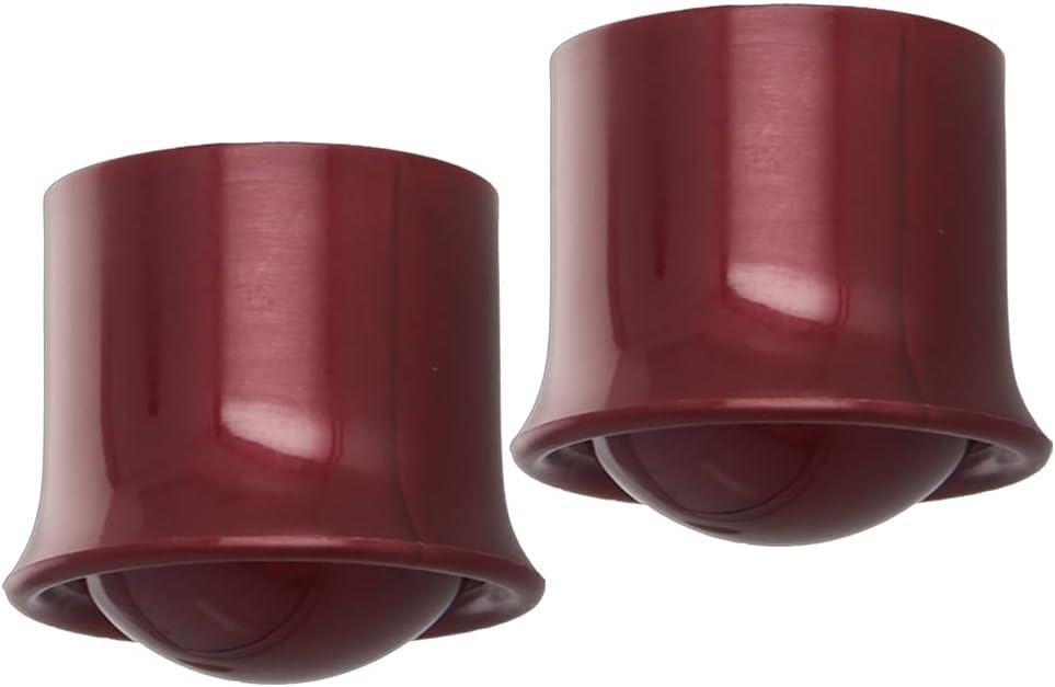 Yinpecly 28mm Dia Detroit Mall List price Window Curtain Rod Plastic End Design D Unique