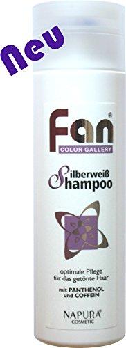 Fan Silberweiß Shampoo 200 ml | Anti-Gelbstich