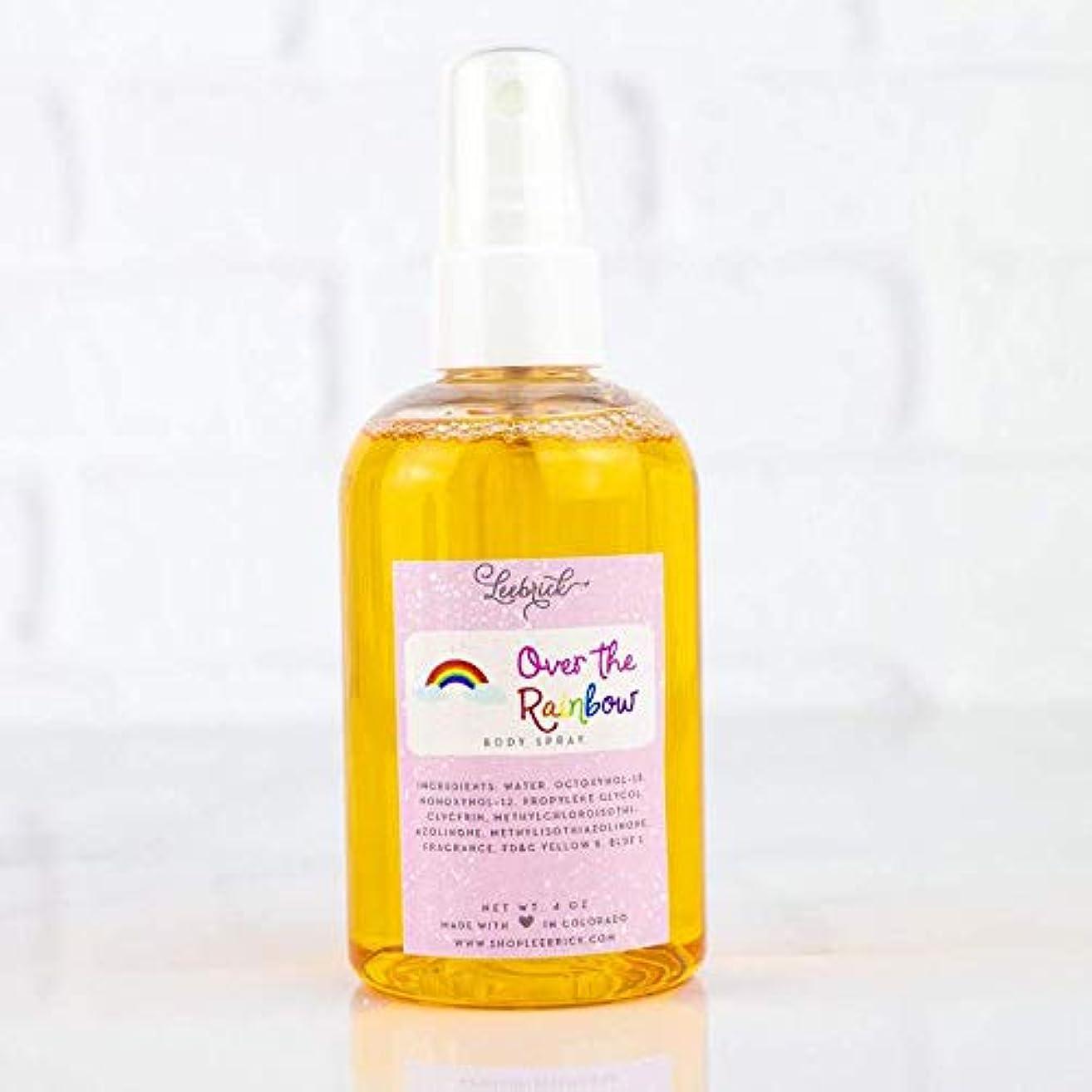 Over the Rainbow Scented Moisturizing Body Spray Oil Mist for Women - 4 oz