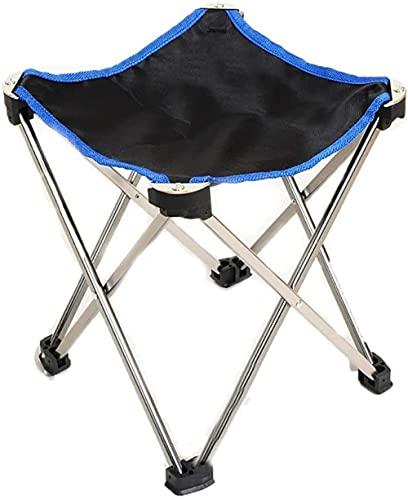Campingstühle, zusammenklappbar, 600D Oxford-Gewebe, ultraleichte Aluminiumlegierung, mit Tragetasche, Mini-Slacker-Hocker für Camping, Angeln, Jagd, Picknick, Reisen