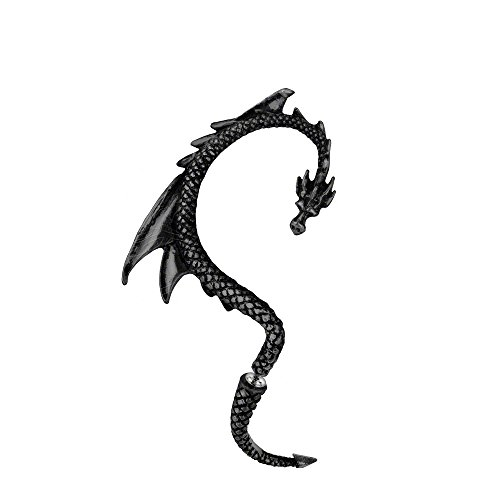 The Black Dragon's Lure Earring by Alchemy Gothic