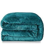 Belleville Fleece Blanket Throw Size Lightweight Super Soft Cozy Luxury Bed Blanket Microfiber