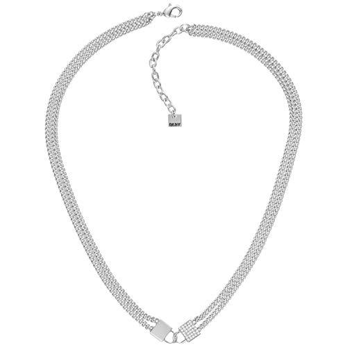 DKNY Damen-Halskette Double Lock 5520107