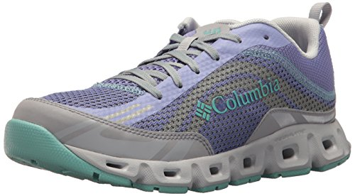 Columbia womens Drainmaker Iv Breathable Water Shoe, Fairytale, Aquarium, 9.5 US