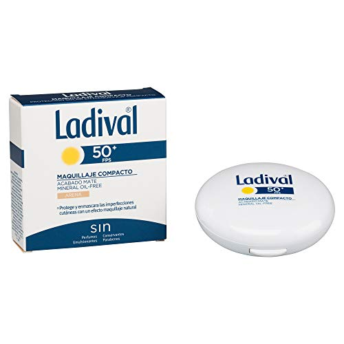 Ladival Maquillaje Compacto - Oil Free - FPS 50+, Color Arena
