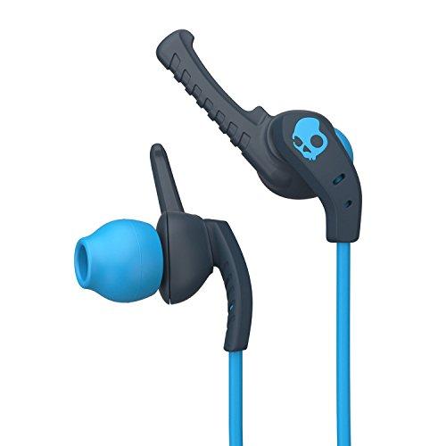 Skullcandy XTplyo In-Ear Sport Kopfhörer Ohrhörer mit Universal Fernbedienung/Mikrofon Schweißbeständig - Teal/Acid/Acid
