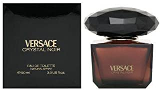 Versace Crystal Noir by Versace for Women – 3 Fl Oz EDT Spray