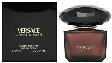 Versace Crystal Noir by Versace for Women - 3 Fl Oz EDT Spray