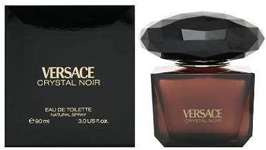 Versace Crystal Noir by Versace for Women - 3 Fl Oz EDT Spray