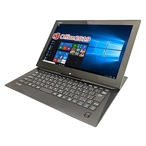 SONY 超軽量ノートPC VAIO Duo 13/13.3型フルHD/タッチパネル/MS Office 2019/Win 10/Core i5-4200U/WEBカメラ/HDMI/wajunのWIFI/Bluetooth/4GB/512GB SSD (整備済み品)