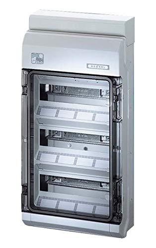 Hensel KV-Automatengehäuse KV PC 9336 36TE(3x12x18mm) IP65 ENYBOARD Installationskleinverteiler 4012591118275