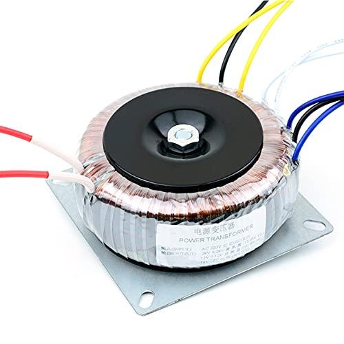 1 UNID 200W AC220V / 110V Transformadores toroidales Dual 28V Dual 12V Single 12V Adaptador de alimentación DAC PREAMP Amplificador TRANSFORMANTE (tamaño : 110V)