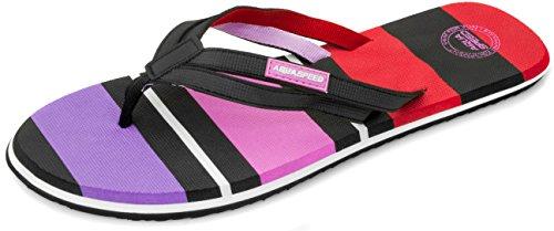 Aqua-Speed Herren Marina Womens Pool Schuhe, schwarz/rosa/violett, 39 Inch (99 cm)