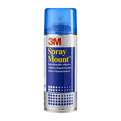 3M Spray Mount - Adhesivo Reposicionable, 400 ml