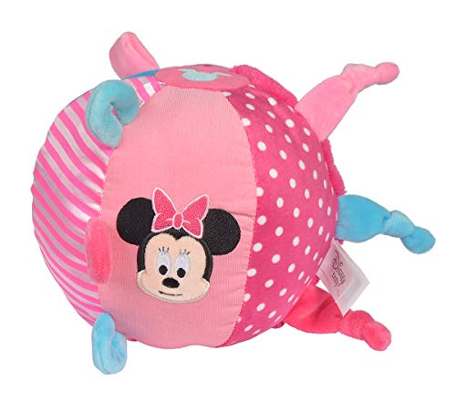 Simba 6315876850 Disney Minnie Soft Ball Color