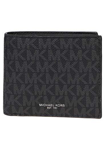 Luxury Fashion | Michael Kors Heren 39F9LGYF5P001 Zwart Katoen Portemonnees | Herfst-winter 19