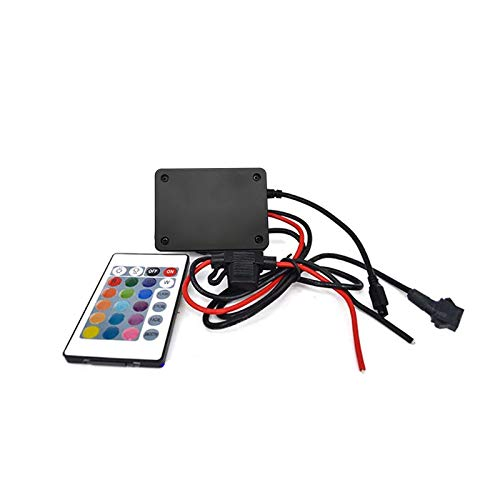 Kingshowstar Dc12v 4.0 Cellphone App LED Motorcycle Light Waterproof Bluetooth LED Music RGB Controler
