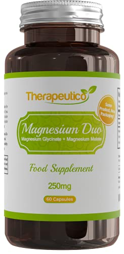 Magnesium Glycinate & Magnesium Malate Blend   High Strength   250mg   60...