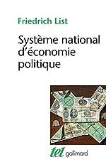 Système national d'économie politique de Friedrich List
