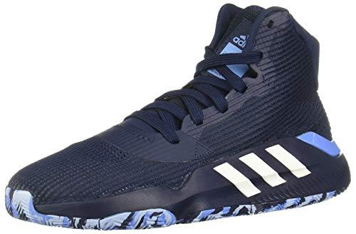 Adidas Pro Bounce 2019, Zapatillas de Baloncesto Hombre, Multicolor (Maruni/Ftwbla/Azurea 000), 48 EU