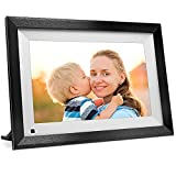 SAMMIX Digital Picture Frame 10.1 inch IPS Touch Screen Digital Photo Frame WiFi, 16GB Storage, Auto-Rotate, Motion Sensor, Share Photos via App, Email, Cloud