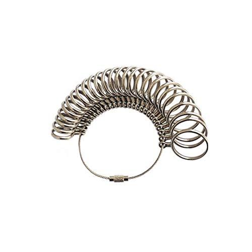 Livecity * Metall Finger Ring Messgerät Sizer * US UK EU Schmuckherstellung Größe Messwerkzeuge Set in verschiedenen Größen 3