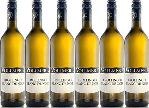 Roland Vollmer Trollinger Blanc de Noir 2017 Trocken (6 x 0.75 l)