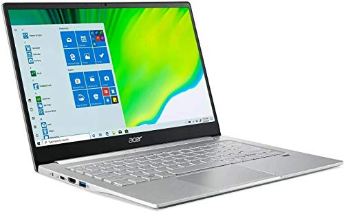Acer Swift 3 - 14' Laptop AMD Ryzen 5 4500U 2.3GHz 8GB Ram 256GB SSD Win10H (Renewed)