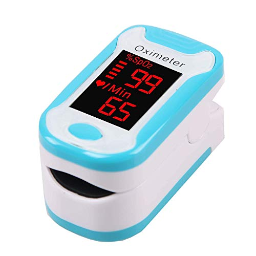 Ayanx Pulsoximeter Oximeter Digitales Oximetro De Pulso De Dedo Finger Pulsoximeter LED-Anzeige Finger Oximeter Saturometro Pulsioxi (Farbe: Grün)