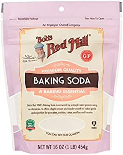 Bob's Red Mill - Pure Baking Soda Premium Quality - 450g (Case of 4)