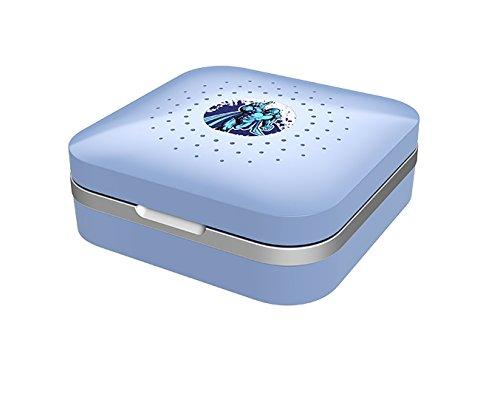 Dry-Care UV - Trockenbox / Trockenstation inkl. Etui für Hörgeräte - Kinder- blau
