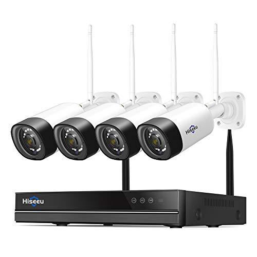 Wireless CCTV Camera Systems, 8CH 2MP Wireless WiFi Security Camera System...