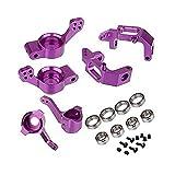 Eddwiin Juego Combinado de actualización de Aluminio CNC 102011 102012 102010 para HSP Redcat Volcano EPX 1/10 RC Cars Truck - Piezas y Accesorios de Juguete ( Color : Purple )