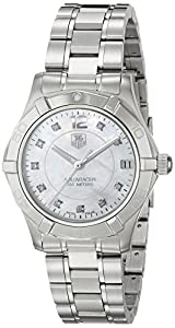 TAG Heuer Women's WAF1312.BA0817 'Aquaracer' Stainless Steel and Diamond Watch image