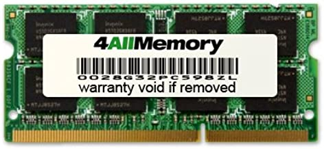 4GB DDR3-1066 (PC3-8500) RAM Memory Upgrade for The IBM ThinkPad T400 Series T500 (224356U)