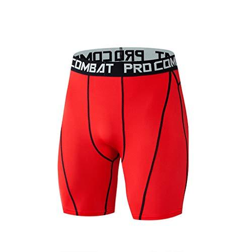 OPALLEY Herren Seide Sportunterhosen ultradünne langes Hosenbein Sportunterwäsche vergrößerte Modal Boxershorts für Fahradfahren Fitness Größen XL-7XL