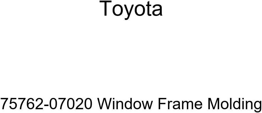 Ranking TOP7 TOYOTA Genuine 75762-07020 Molding Free Shipping Window Frame