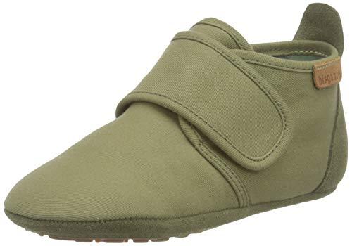 Bisgaard Jungen Unisex Kinder Baby Cotton First Walker Shoe, Green, 19 EU